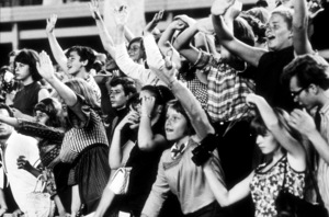 Beatles Fans enjoying concert atShea Stadium, August 15, 1965 © 1978 George E. Joseph / MPTV - Image 7685_0179