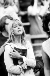 Beatles Fan emotionally moved by concert performance at Shea Stadium,August 15, 1965 © 1978 George E. Joseph / MPTV - Image 7685_0183
