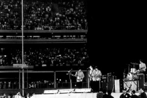 Beatles performing at Shea Stadium,August 15, 1965 © 1978 George E. Joseph / MPTV - Image 7685_0186