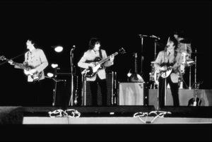 Beatles performing at Shea Stadium,August 15, 1965 © 1978 George E. Joseph / MPTV  - Image 7685_0188