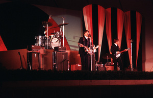 BEATLES PERFORMING AT THE HOLLYWOOD BOWLIN LOS ANGELES 1965 © 1978 RESHOVSKY / MPTV - Image 7685_0190