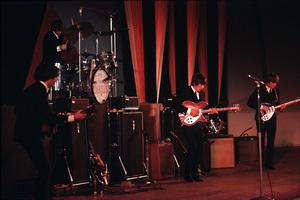Beatles performing at the Hollywood Bowlin Los Angeles 1965 © 1978 Reshovsky / MPTV - Image 7685_0191