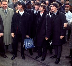 The BeatlesRingo Starr, John Lennon, PaulMcCartney, George Harrison1964 at Kennedy airport/**I.V. - Image 7685_0203
