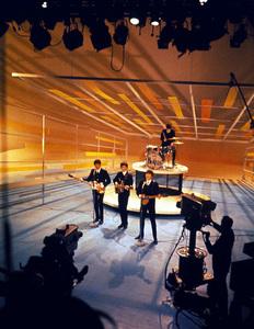 The BeatlesRingo Starr, John Lennon, PaulMcCartney, George Harrisonon the Ed Sullivan Show1964/**I.V. - Image 7685_0204