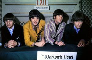 The BeatlesRingo Starr, Paul McCartney ,John Lennon,and George Harrison in New York City 1966**I.V. - Image 7685_0212