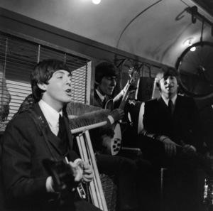 The BeatlesPaul McCartney, George Harrison, John Lennoncirca 1965**I.V. - Image 7685_0223