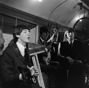 The BeatlesPaul McCartney, George Harrison, John Lennoncirca 1965**I.V. - Image 7685_0223