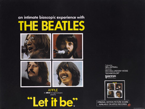 """""""Let It Be"""" (British Poster)1970** T.N.C. - Image 7685_0245"""