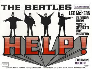 """Help!"" (British Poster)1965** T.N.C. - Image 7685_0248"