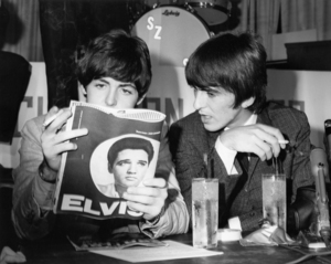 Paul McCartney and George Harrisoncirca 1965** I.V. - Image 7685_0259