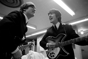 John Lennon and George Harrison of the Beatles1964© 1978 Gunther - Image 7685_0296