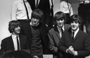 The Beatles arriving in Los Angeles, 1964. © 1978 Bud GrayMPTV - Image 7685_12