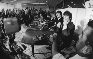 The Beatles at a press conference, 1964. © 1978 Bud GrayMPTV - Image 7685_17