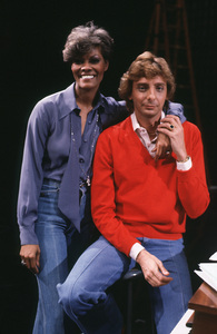 Barry Manilow and Dionne Warwickcirca 1975Photo by Marv Newton - Image 7701_0001
