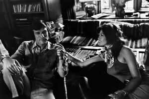 Barbi Benton and Hugh M. Hefner at home in the Playboy mansion1975 © 1978 Gunther - Image 7710_0012