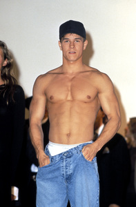 Mark Wahlbergmodeling for Calvin Klein1993 © 1993 Pablo Grosby - Image 7806_0001