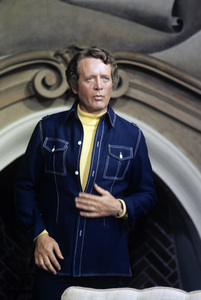 "Patrick McGoohan during the filming of an episode of ""Columbo""1974 © 1978 Bud Gray - Image 7812_0002"