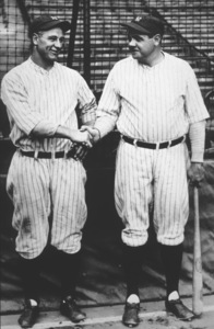 Lou Gehrig and Babe Ruth1927 - Image 7828_0001