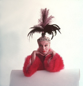 """Carol Channing in character for the Broadwaystage production of """"The Vamp""""11/28/55 © 2000 Mark Shaw - Image 7849_0026"""