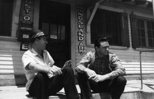 Johnny Cash with his best friend, and fishing buddy, Johnny Horton1959** I.V.M. - Image 7857_0031