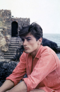"Alain Delon during the making of ""Purple Noon"" (Original: Plein soleil)1960 © 1978 Sanford Roth / A.M.P.A.S. - Image 7871_0002"