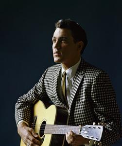 Vintage publicity studio portrait of pop celebrity musician and singer Jimmie Rodgers taken in Manhattan, New Yorkcirca 1960 © 2005 Michael Levin - Image 7878_0003