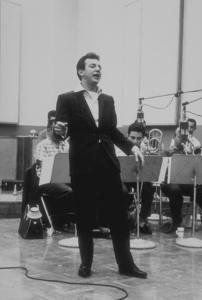 Bobby Darin at a recording session, circa 1960. © 1978 Bernie AbramsonMPTV - Image 7906_0014