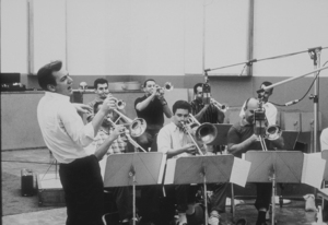 Bobby Darin at a recording session, circa 1960. © 1978 Bernie AbramsonMPTV - Image 7906_0015