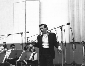 Bobby Darinat a recording sessionC. 1960 © 1978 Bernie Abramson - Image 7906_0019
