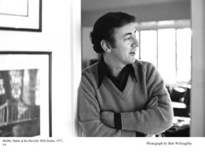 Bobby Darin at home in Beverly Hills, California 1971 © 1978 Bob Willoughby - Image 7906_0030