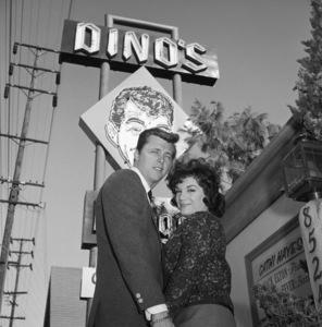 "Connie Francis and Edd ""Kookie"" Byrnescirca 1960s© 1978 David Sutton - Image 7908_0014"
