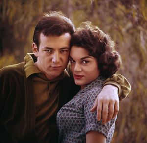 Connie Francis and Bobby Darincirca 1960s© 1978 Gunther - Image 7908_0016