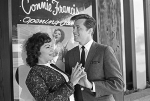 "Connie Francis and Edd ""Kookie"" Byrnescirca 1960s© 1978 David Sutton - Image 7908_0018"