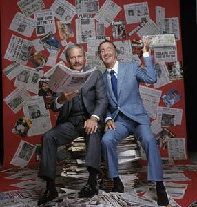 Dick Martin and Dan Rowancirca 1970s** H.L. - Image 7915_0047