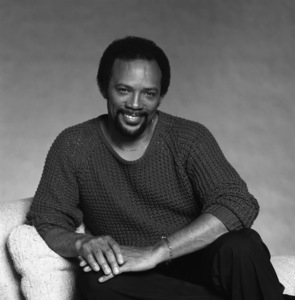 """Quincy Jones studio session for the album """"The Dude""""1981© 1981 Bobby Holland - Image 7920_0026"""
