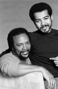 Quincy Jones and photographer Bobby Holland1981© 1981 Bobby Holland - Image 7920_0034