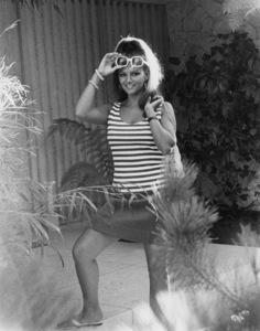 Claudia Cardinale at Home1966 © 1978 David Sutton - Image 7921_0027