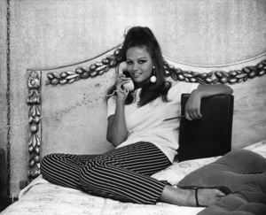 Claudia Cardinale at home 1966 © 1978 David Sutton - Image 7921_0031