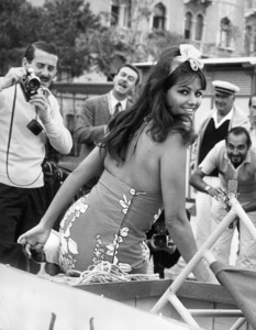 Claudia Cardinale at the Venice Film Festival in Italy1965 - Image 7921_0039