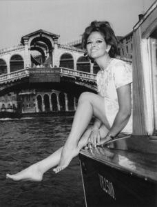 Claudia Cardinale in Venice, Itlay9/14/1967 - Image 7921_0042