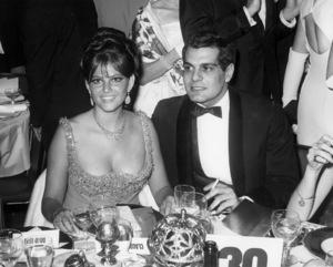 Claudia Cardinale and Omar Sharifcirca 1970Photo by Joe Shere - Image 7921_0055