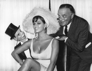 Claudia Cardinale with Edgar Bergen and Charlie McCarthycirca 1960s - Image 7921_0066