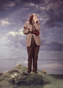 "Tiny TimAt a photo shoot for his album""God Bless Tiny Tim""1968 © 1978 Ed ThrasherMPTV - Image 7943_0016"