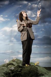 "Tiny Tim at the photo shoot for his album ""God Bless Tiny Tim""1968 © 1978 Ed Thrasher - Image 7943_0019"