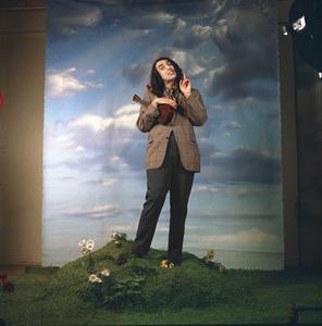 "Tiny Tim at the photo shoot for his album ""God Bless Tiny Tim"" 1968 © 1978 Ed Thrasher - Image 7943_0030"