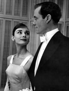 """28th Annual Academy Awards""Audrey Hepburn, Mel Ferrer1956 © 1978 Bill Avery - Image 7979_0013"