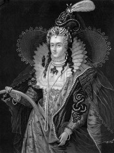 Queen Elizabeth Iruled from 1558-1603 A.D.Original by ZuccheroEngraving by John Sartain - Image 7982_0001