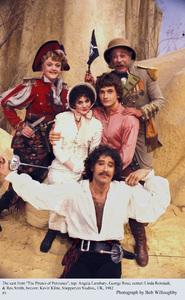 """Pirates of Penzance, The"" Kevin Kline, Linda Rondstadt,Rex Smith, Angela Lansbury, George Rose, 1982 © 1982 Bob Willoughby - Image 8013_0016"