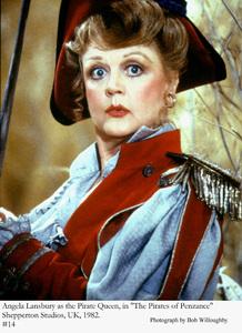 """Pirates of Penzance, The""Angela Lansbury 1982 © 1982 Bob Willoughby - Image 8013_0029"