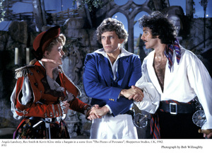 """Pirates of Penzance, The""Angela Lansbury, Rex Smith, Kevin Kline, 1982 © 1982 Bob Willoughby - Image 8013_0037"